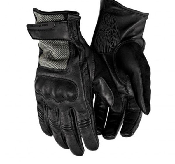 guanti airflow estivi moto bmw motorrad colore nero - co.mo bmw