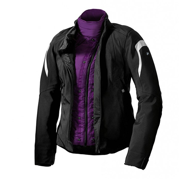 giacca tourshell tuta da turismo impermeabile donna moto bmw