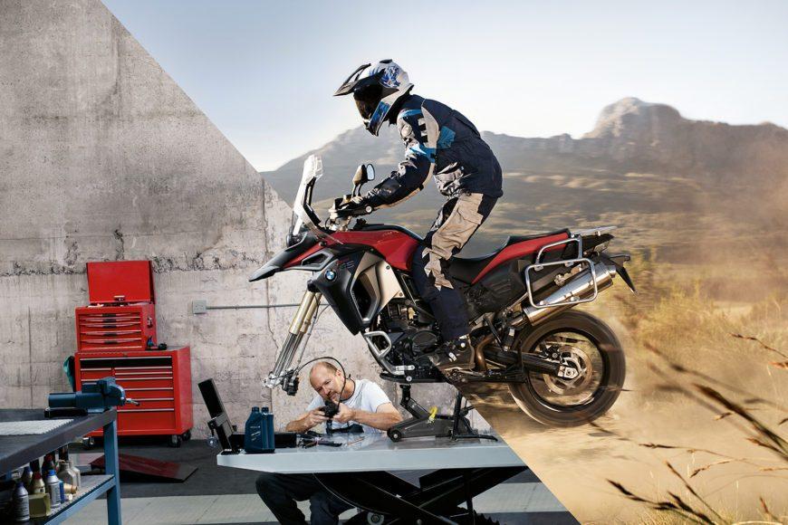 La manutenzione della tua moto BMW, anche d'inverno